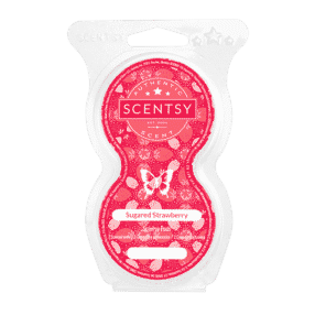 SUGARED STRAWBERRY SCENTSY POD