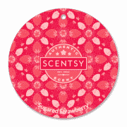 SUGARED STRAWBERRY SCENTSY SCENT CIRCLE