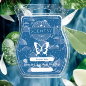 SUMMER RAIN SCENTSY BAR JULY 2019