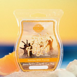 SUNRISE WITH FRIENDS SCENTSY BAR