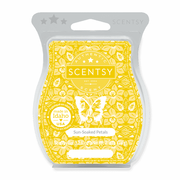 SUNSOAKED PETALS SCENTSY BAR