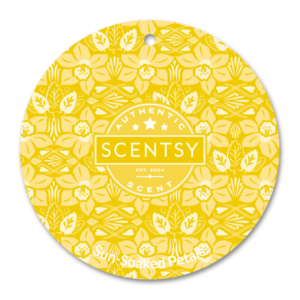SUNSOAKED PETALS SCENTSY SCENT CIRCLE | NEW! Sun Soaked Petals Scentsy Scent Circle | Shop Scentsy | Incandescent.Scentsy.us