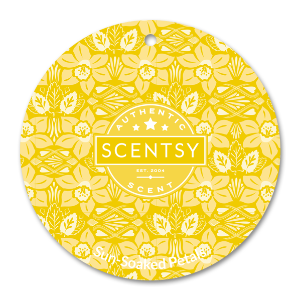 SUNSOAKED PETALS SCENTSY SCENT CIRCLE