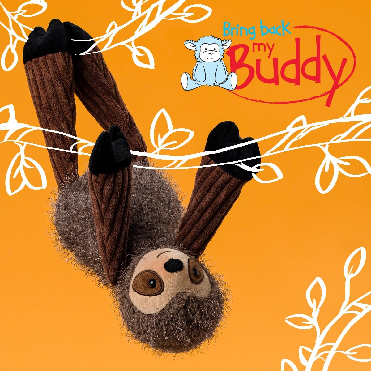 SUZIE THE SLOTH SCENTSY BUDDY BRING BACK MY BUDDY