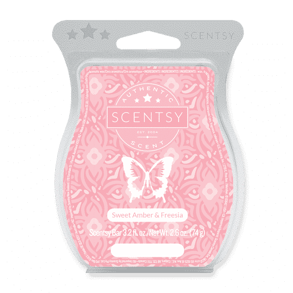 SWEET AMBER FREESIA SCENTSY BAR