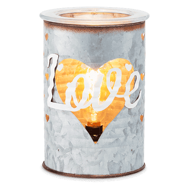 SWEET LOVE SCENTSY WARMER LIGHTS
