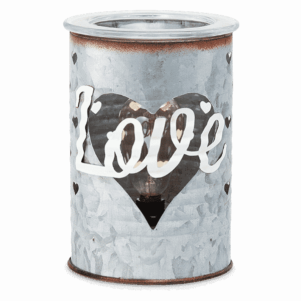 SWEET LOVE SCENTSY WARMER NO LIGHT