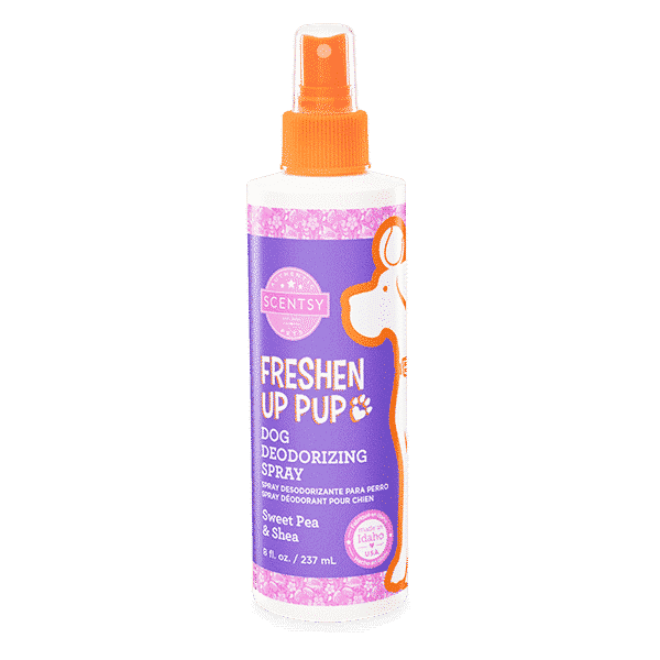 SWEET PEA AND SHEA DOG DEODORIZING SCENTSY SPRAY