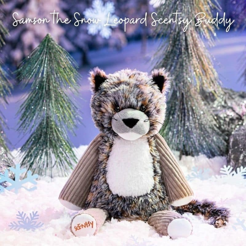 NEW! Samson the Snow Leopard Scentsy Buddy | Shop 1/25