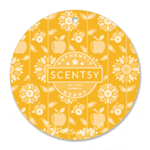 Scarlet Sunflower Scentsy Scent Circle