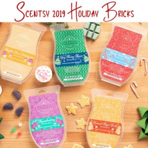 Scentsy 2019 Holiday Bricks