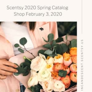SCENTSY SPRING 2020 CATALOG INFO