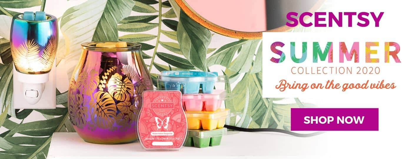 Scentsy Summer 2020 Collection