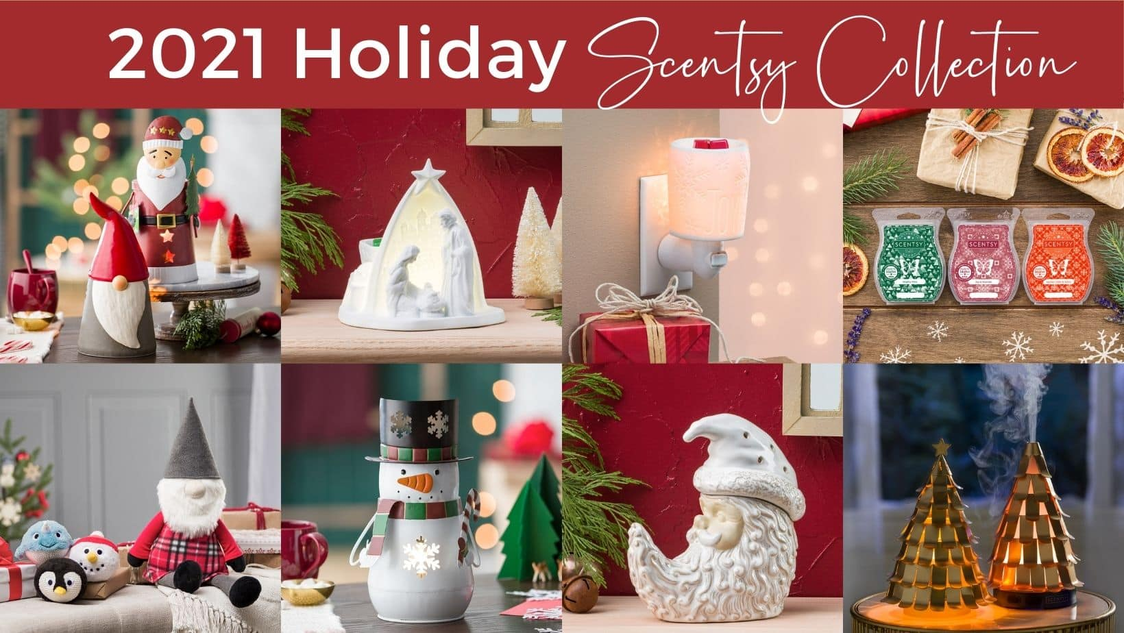 Scentsy 2021 Holiday Collection Collection