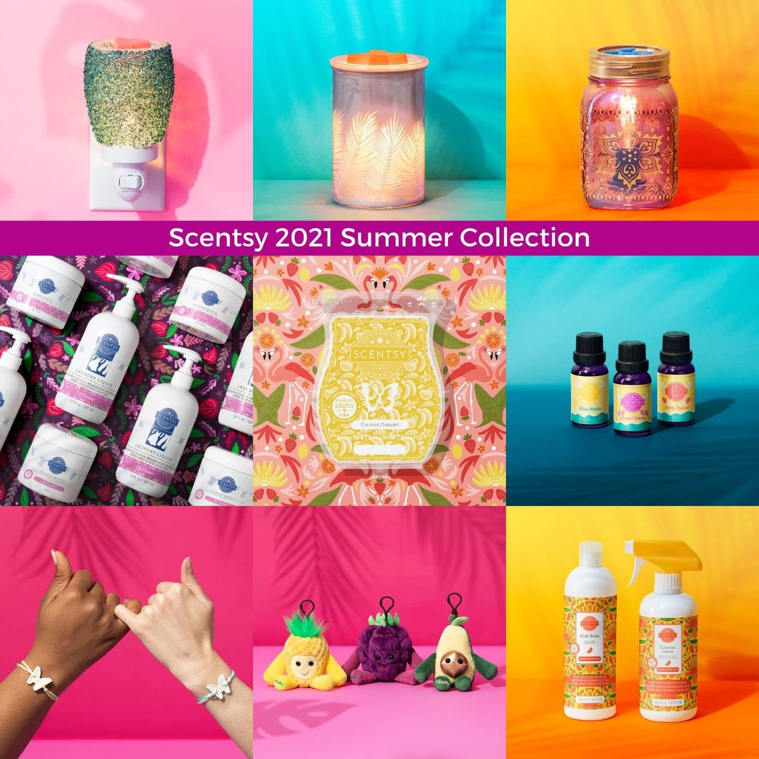 NEW! Scentsy 2021 Summer Collection | Shop Now