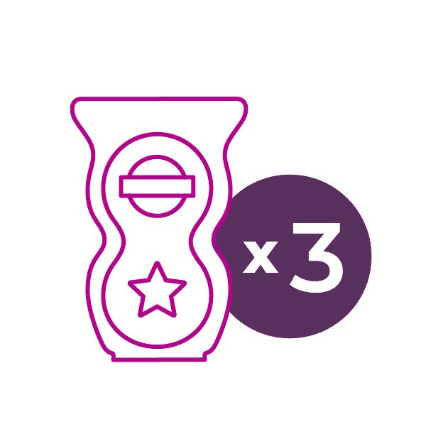 Scentsy 3 Licensed Scentsy Pods | Licensed Scentsy Pods 3 Pack - Bundle & Save