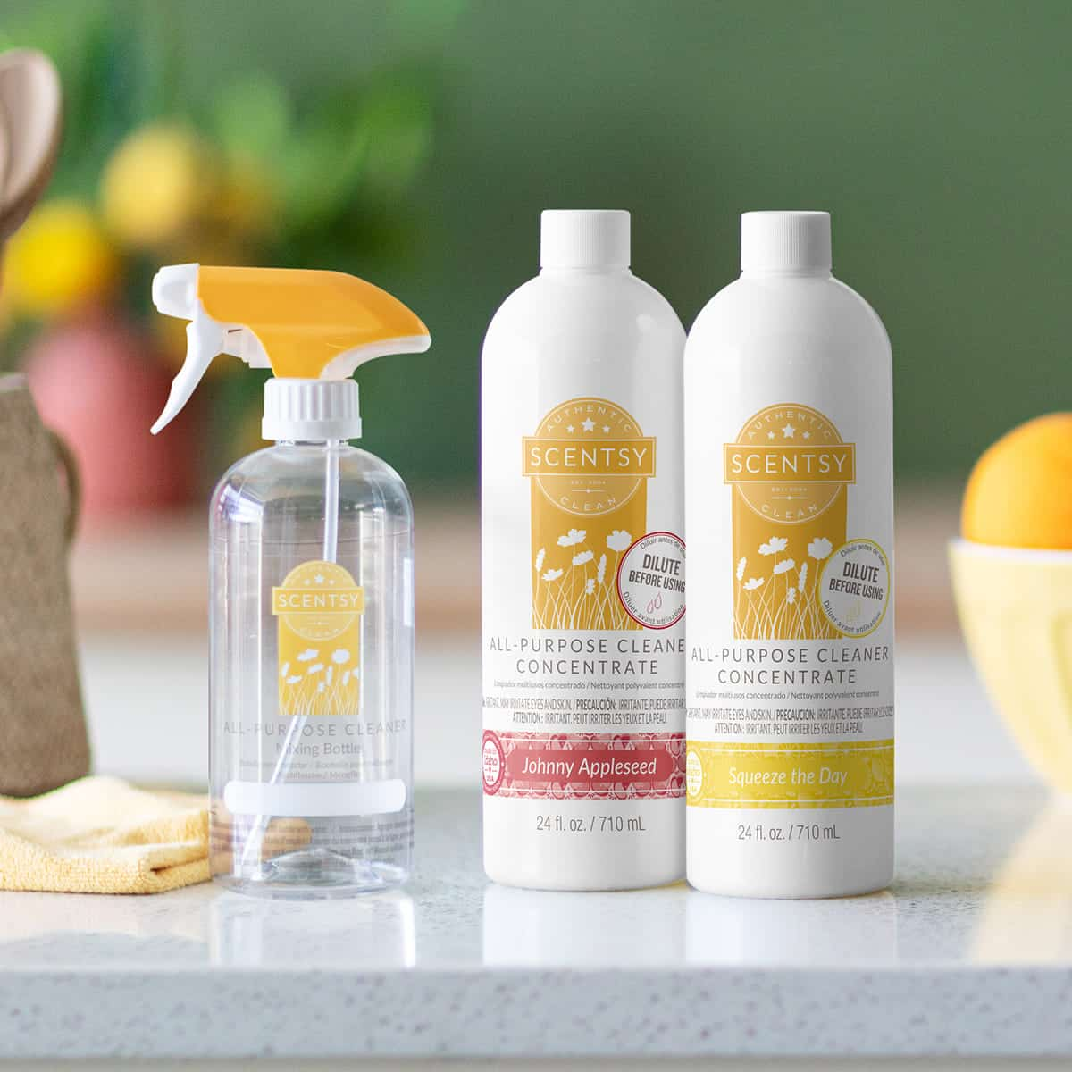 NEW! Special – Two All-Purpose Scentsy Cleaner Concentrates + free mixing bottle* | Shop Now