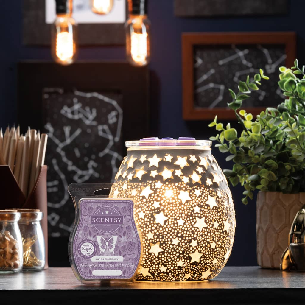 Scentsy August 2021 Warmer of the month