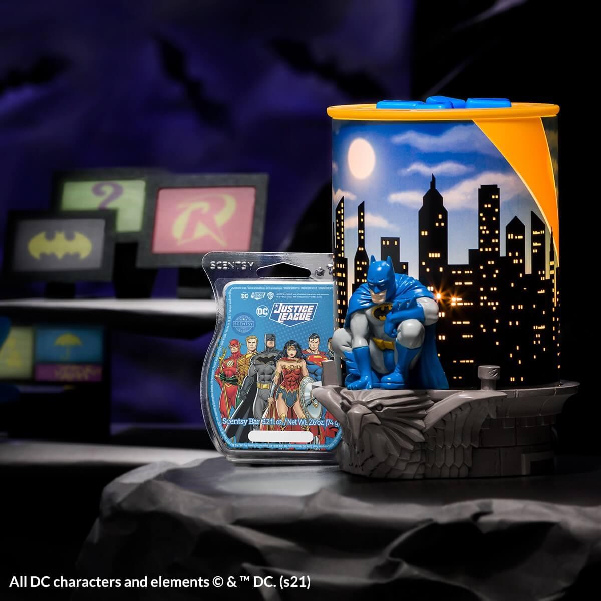 Scentsy Batman Justice League 01