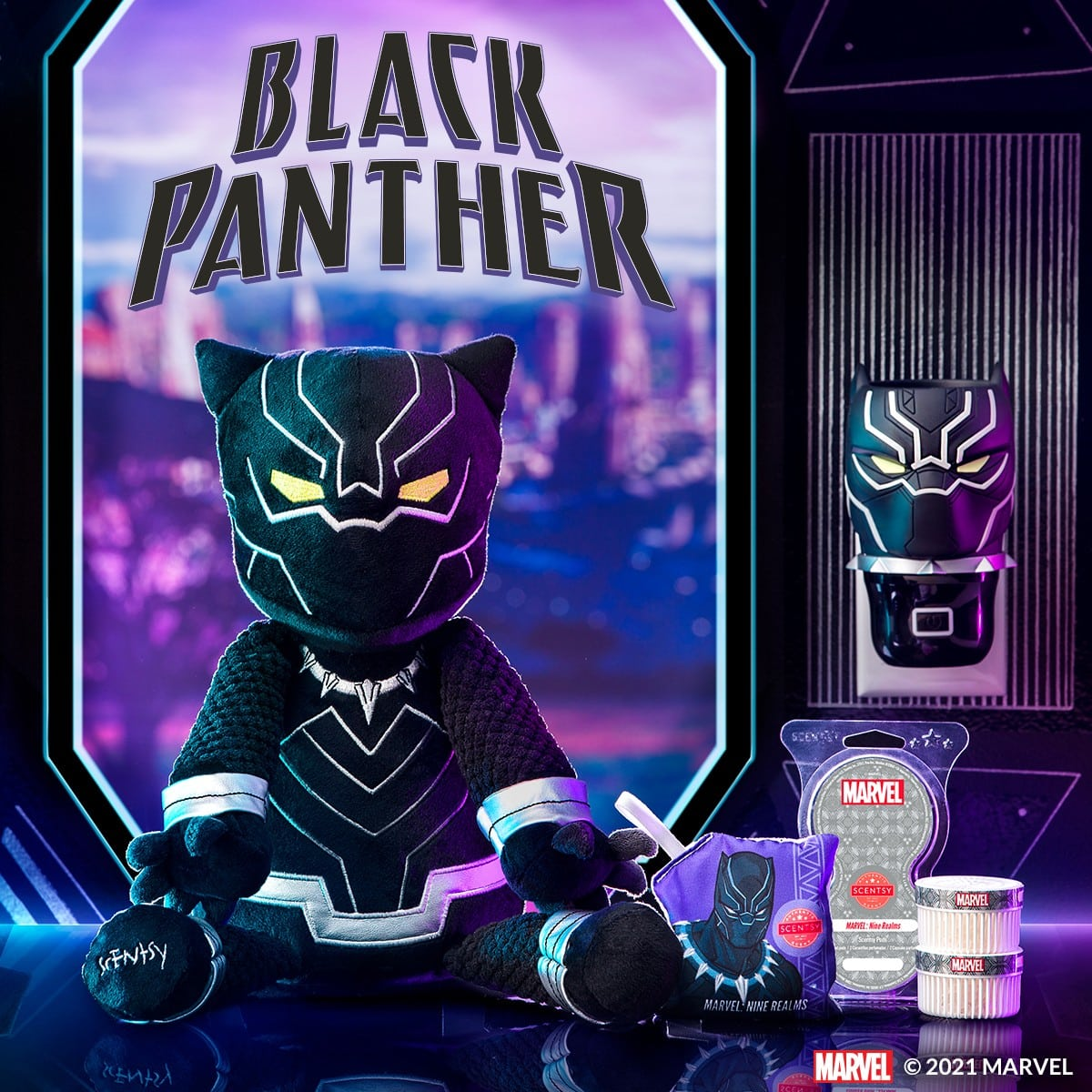 Scentsy Black Panther Collection1