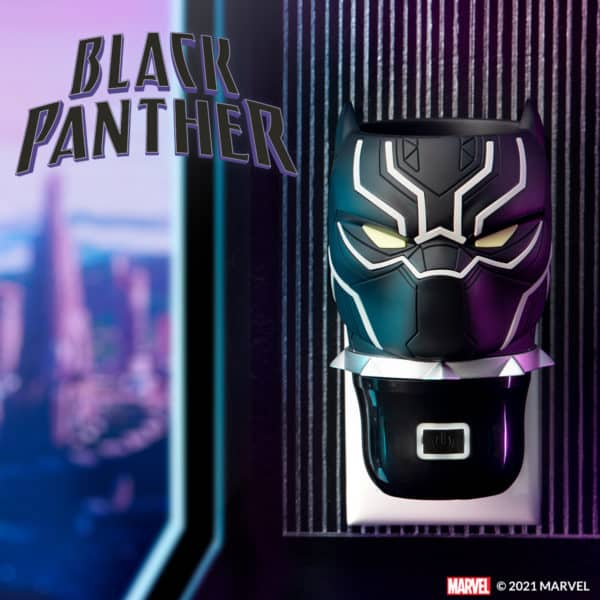 Scentsy Black Panther Wall Fan Diffuser Bundle   Black Panther Scentsy Wall Fan Diffuser Bundle   Marvel Universe