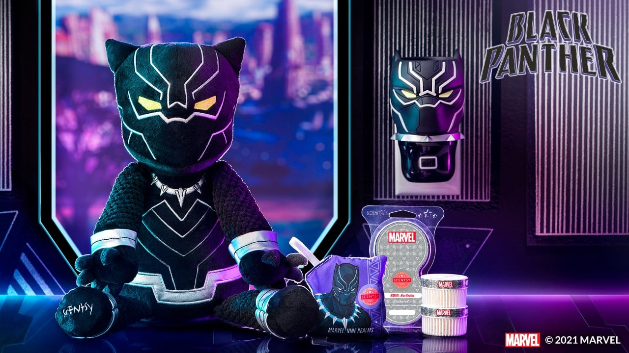 Scentsy Black Panther