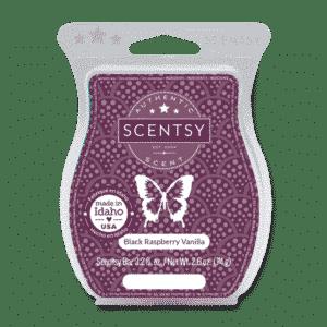 Scentsy Black Raspberry Vanilla Wax Bar