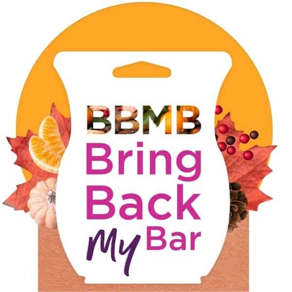 Scentsy Bring Back my Bar 2020
