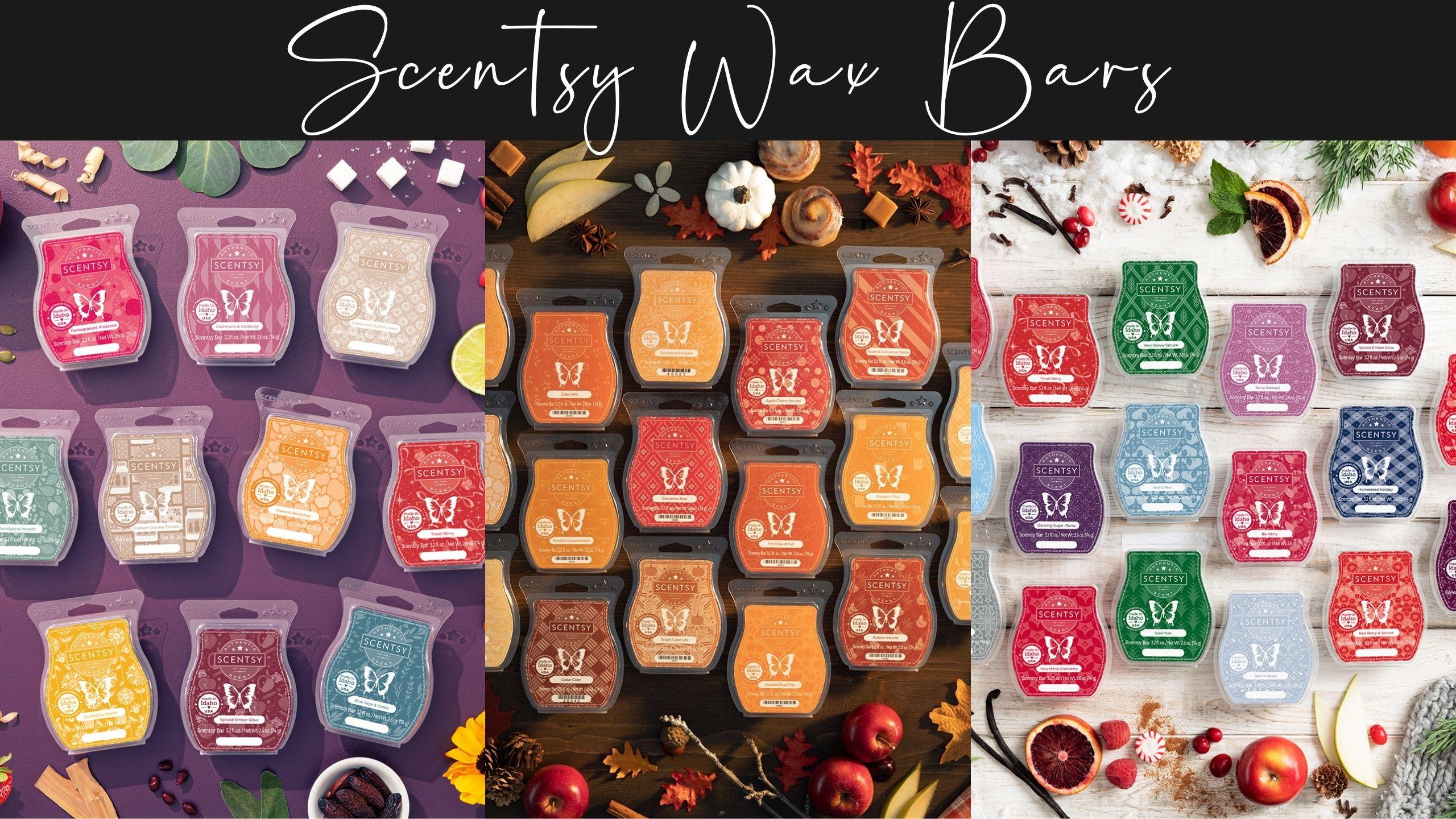 Scentsy Candle Bars Wax Bars