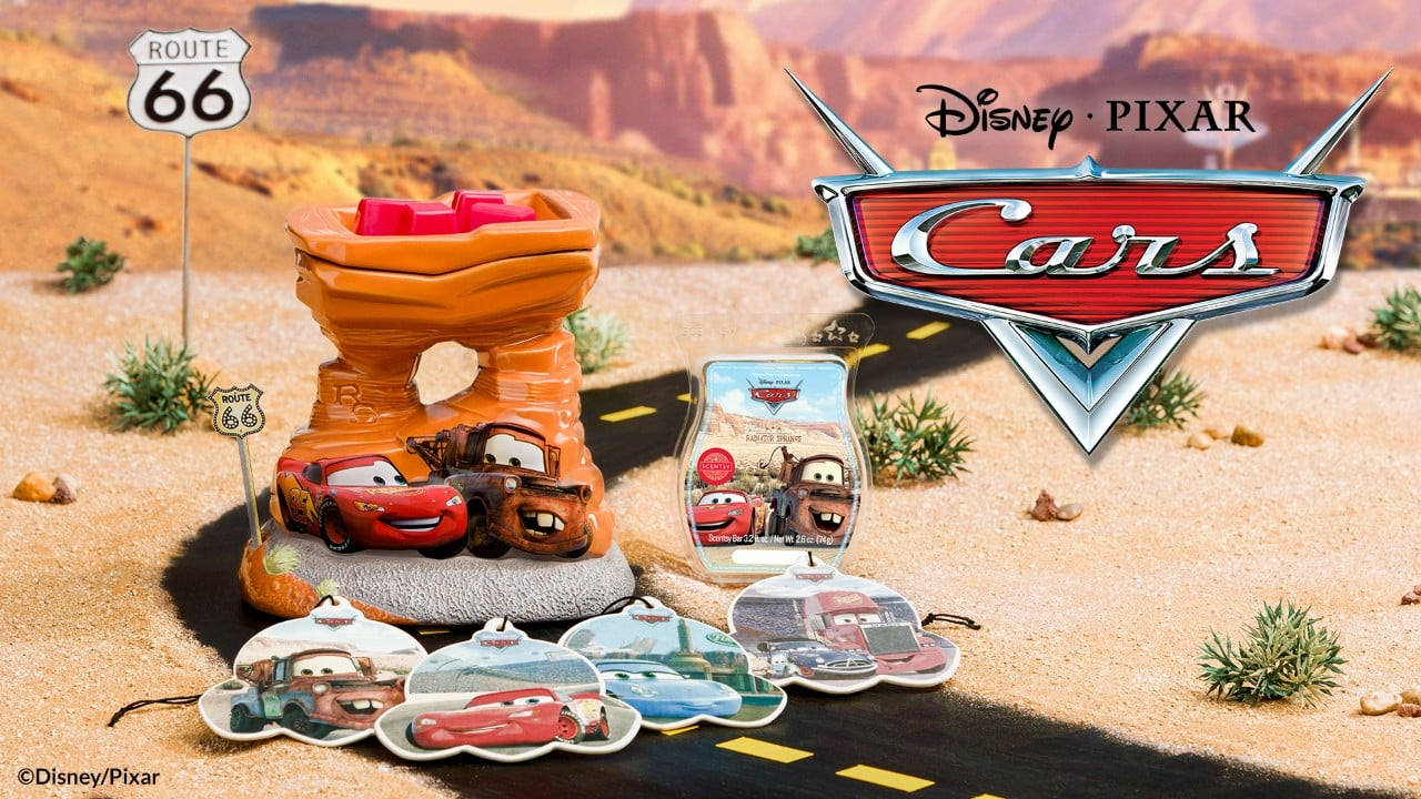 Scentsy Disney Pixar Cars Warmer & Collection