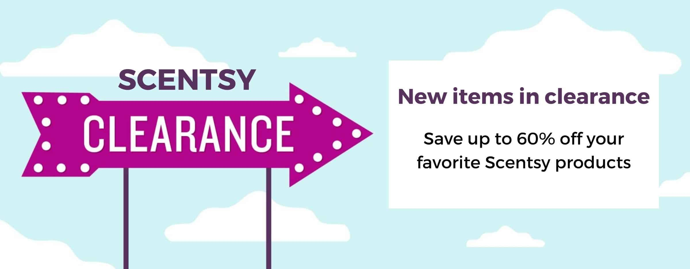 Scentsy Clearance Sale September 2021 Shop Now