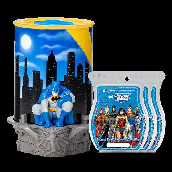 Scentsy DC Batman Bundle | Batman Scentsy Warmer & Bar Bundle