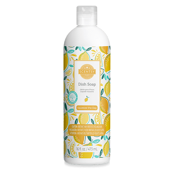 Scentsy Dish Soap 7 | Squeeze the Day Scentsy Dish Soap | Shop Scentsy | Incandescent.Scentsy.us