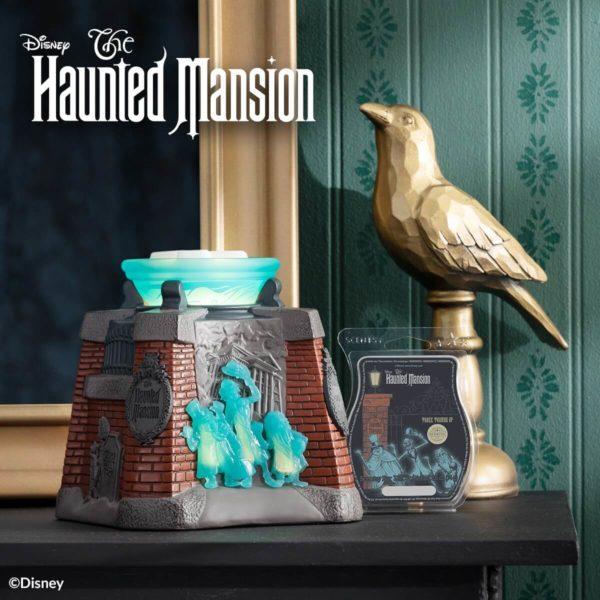 Scentsy Disney Haunted Manion Warmer 1 1   Disney The Haunted Mansion Scentsy Warmer