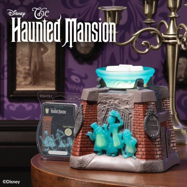 Scentsy Disney Haunted Manion Warmer 2 1   Disney The Haunted Mansion Scentsy Warmer