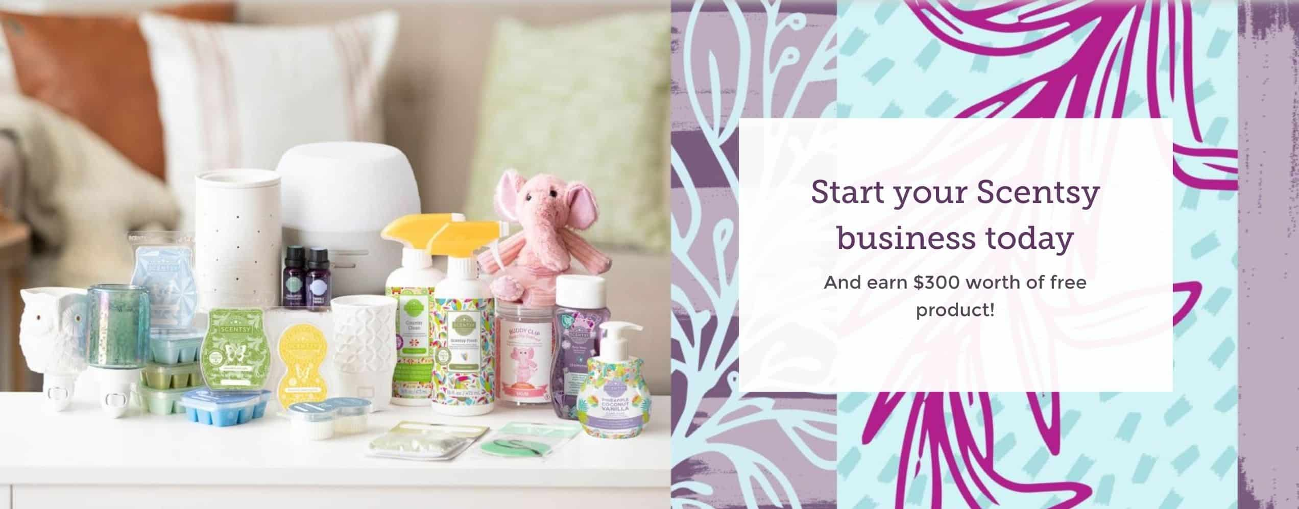Scentsy Earn Shooting Star in August