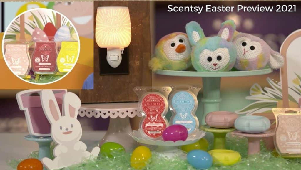 Scentsy Easter Preview 2021