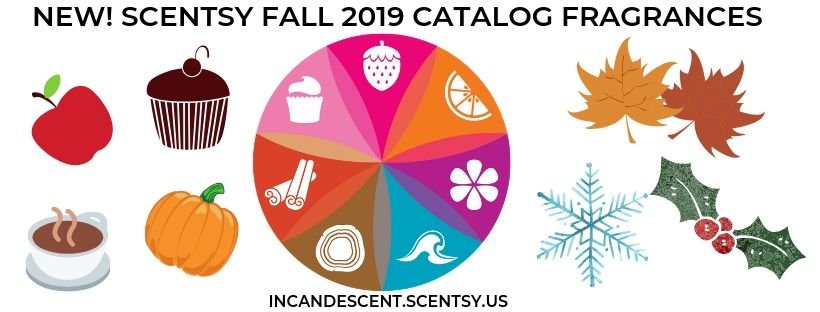 SCENTSY FALL 2019 CATALOG FRAGRANCES