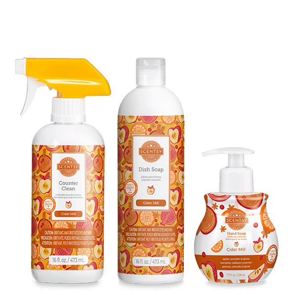 Scentsy Fall Clean Bundles 3