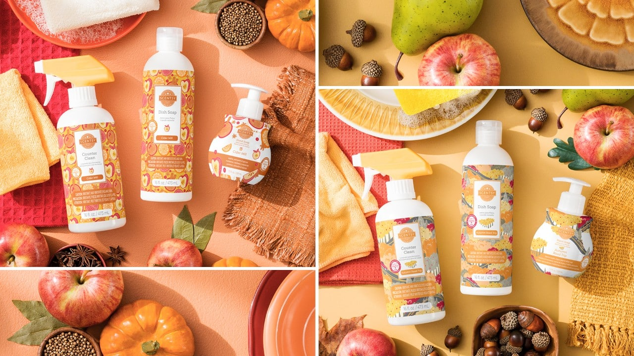 Scentsy Fall Clean Bundles