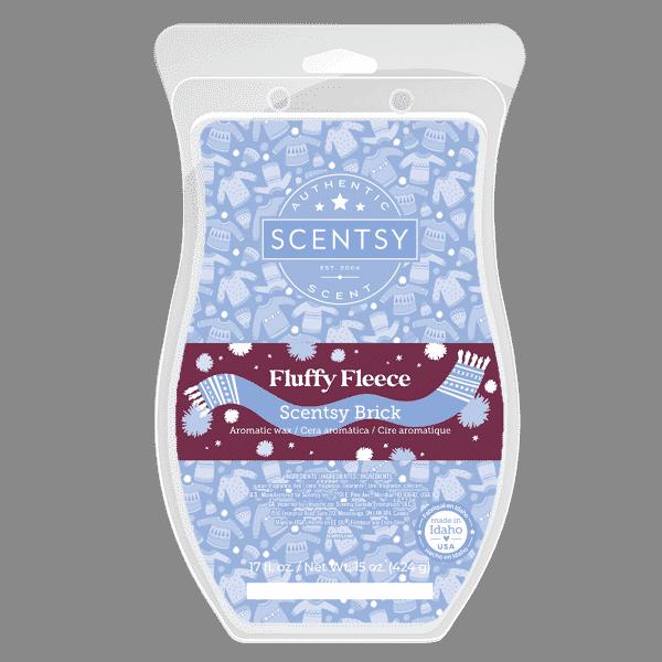 Scentsy Fluffy Fleece Brick 2021 Holiday1 | Fluffy Fleece Scentsy Brick | Holiday 2021