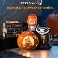Scentsy Harvest Collection arrives 91 1 1   NEW! The Nightmare Before Christmas Scentsy Collection   Shop 9/1   Harvest 2021   Incandescent.Scentsy.us