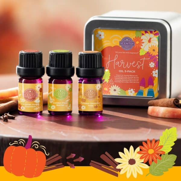 Scentsy Harvest Oil Collection1 | NEW! Harvest 2021 Scentsy Oil Collection | Incandescent.Scentsy.us
