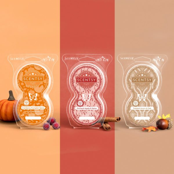 Scentsy Harvest Pods 20212 | Orchard Apple & Spice Scentsy Pods