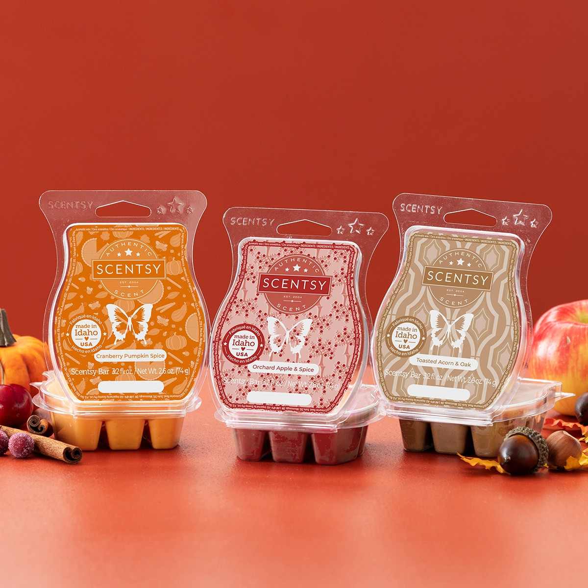 Scentsy Harvest Wax Collection 20212 | Harvest 2021 Scentsy Bar Collection
