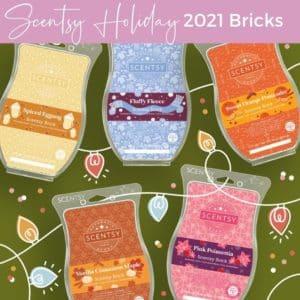 SCENTSY BRICKS HOLIDAY/CHRISTMAS 2021