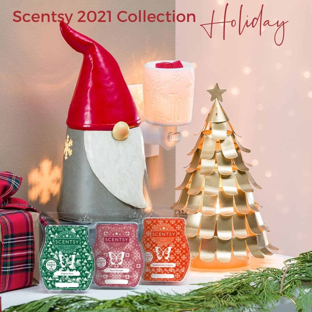 Scentsy 2021 Holiday Christmas Collection | Shop 10/1