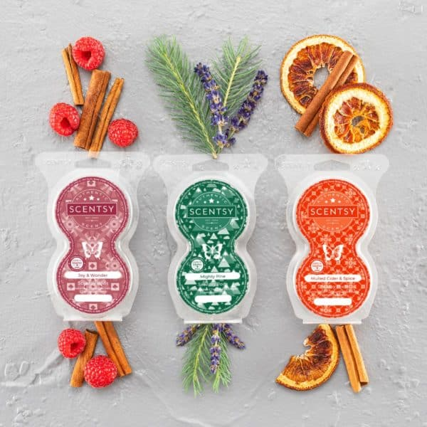 Scentsy Holiday 2021 Pods   Mighty Pine Scentsy Pods