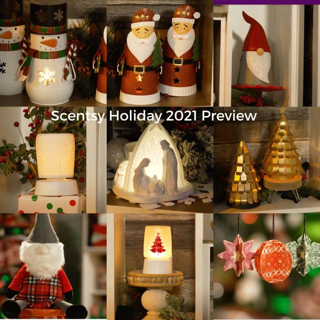 Scentsy Holiday 2021 Preview