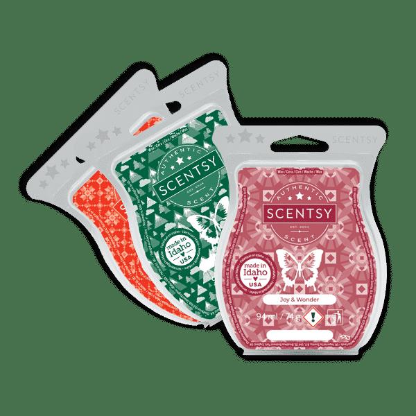Scentsy Holiday Bar 3 Pack | Scentsy Holiday Bar 3 Pack | Holiday 2021